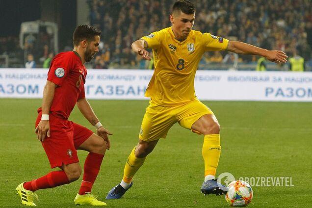 Украина – Португалия