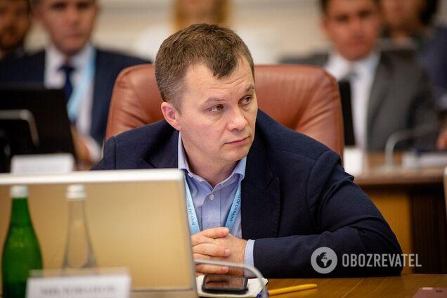 Міністр економіки Тимофій Милованов заявив, що відомство не проводило оцінок впливу податкових змін, запропонованих у законопроєктах №1210 і 1210-1