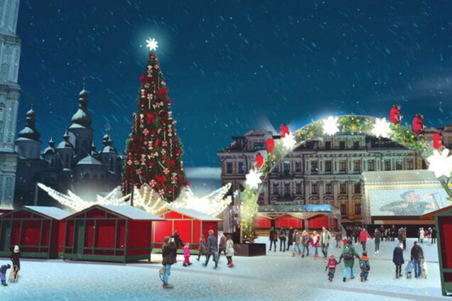 Главная елка Украины