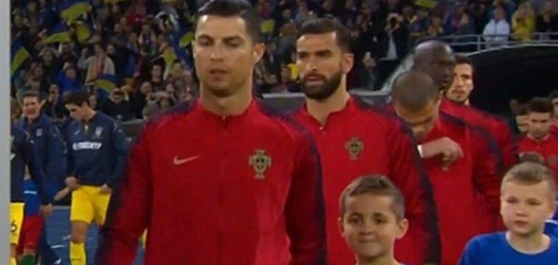 'Россия – враг': Роналду исполнил мечту 8-летнего сына защитника Украины