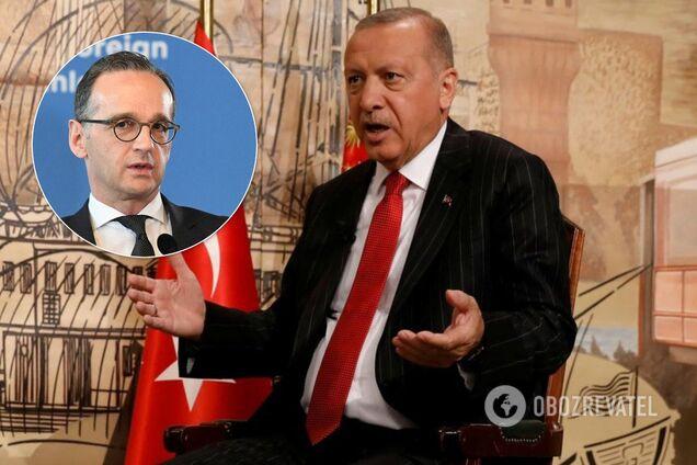 Ердоган поскандалив із Німеччиною через Сирію