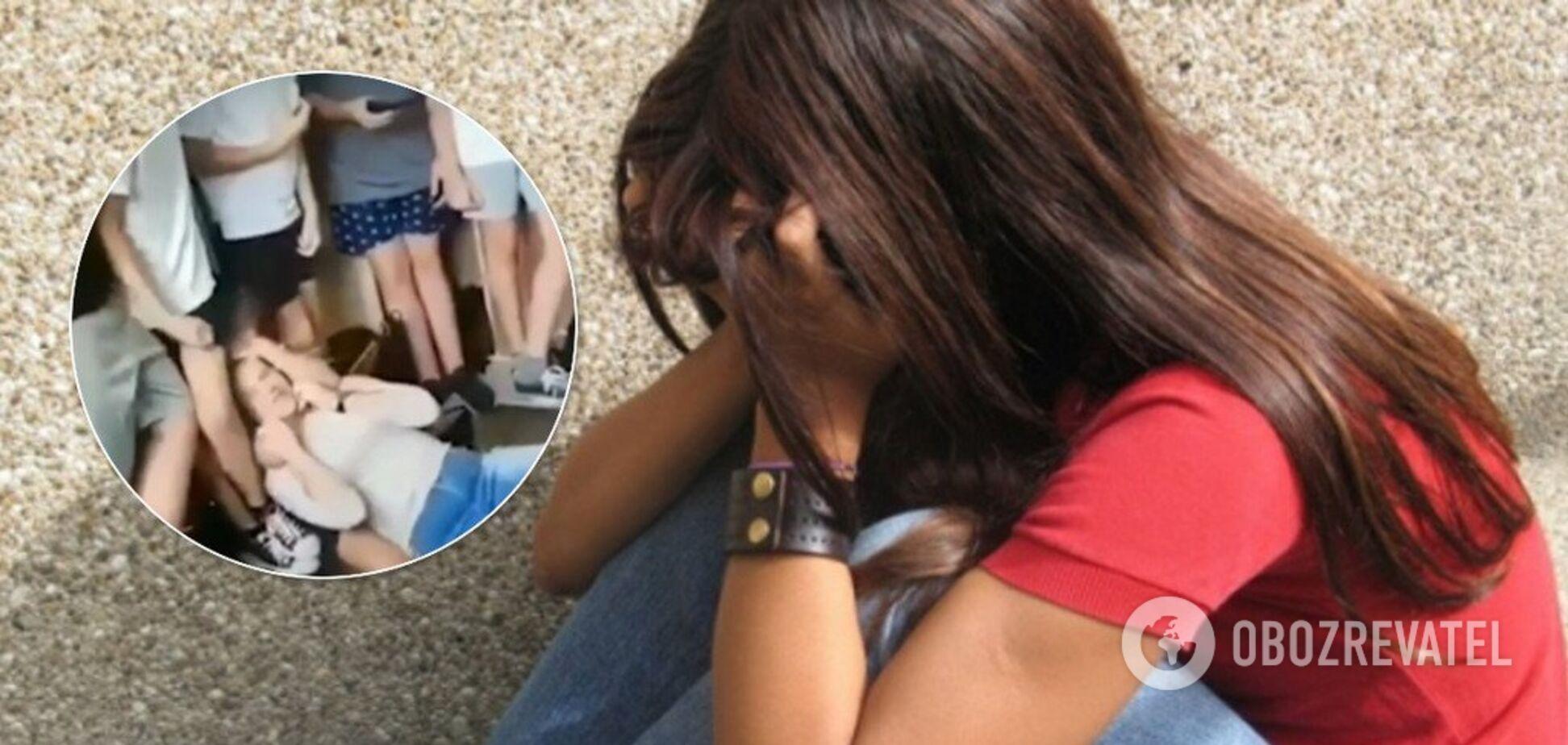 В школе Запорожья ученик пытался задушить одноклассницу. Опубликовано видео