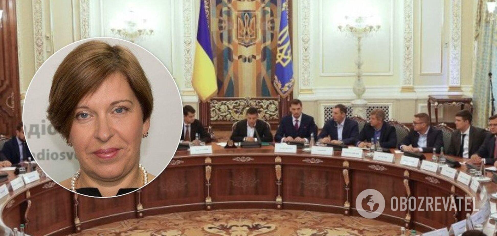 Кто-то в правительстве работает на государство-агрессора - экс-глава ГРС Ксения Ляпина