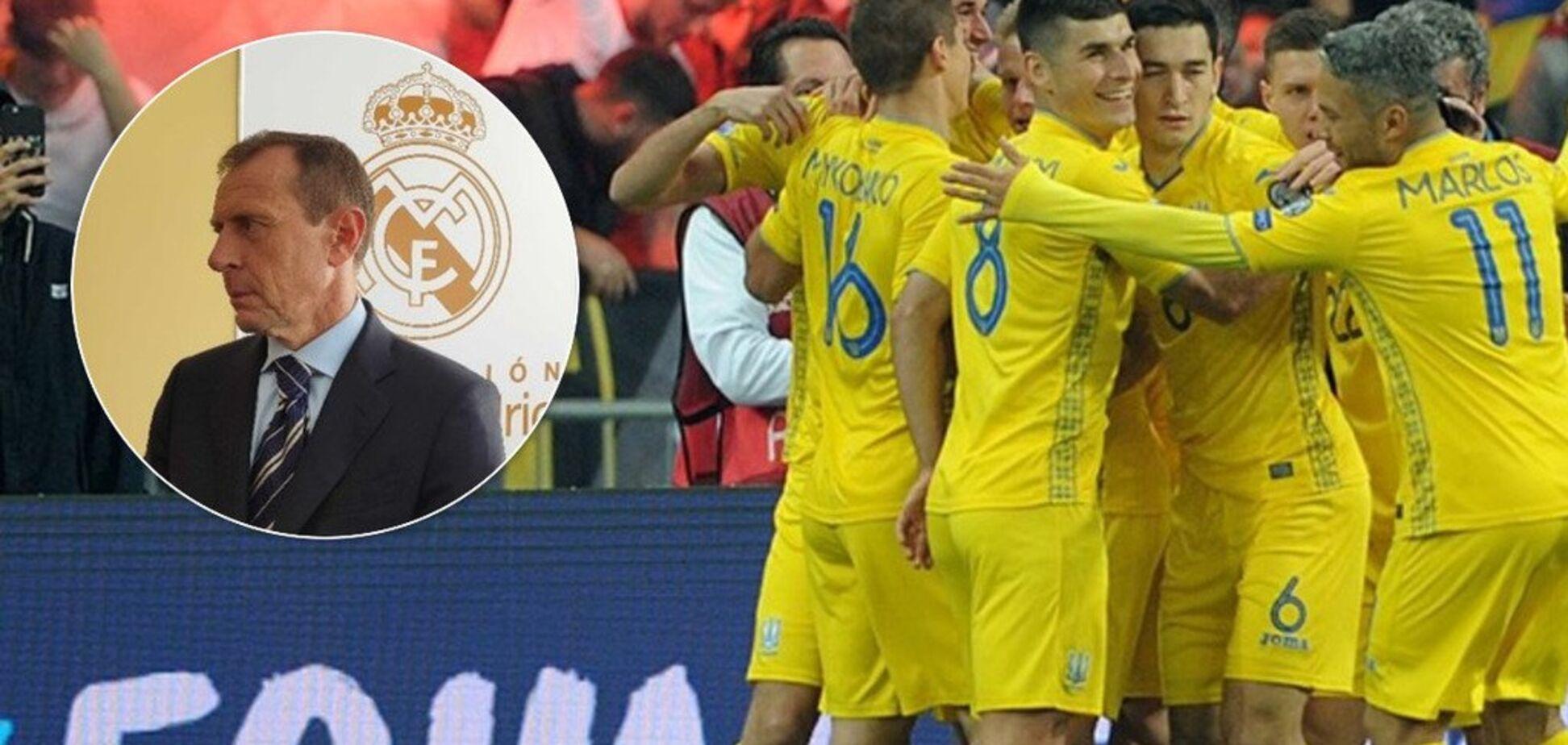 'Это миф': директор 'Реала' восхитился 'сильной Украиной'