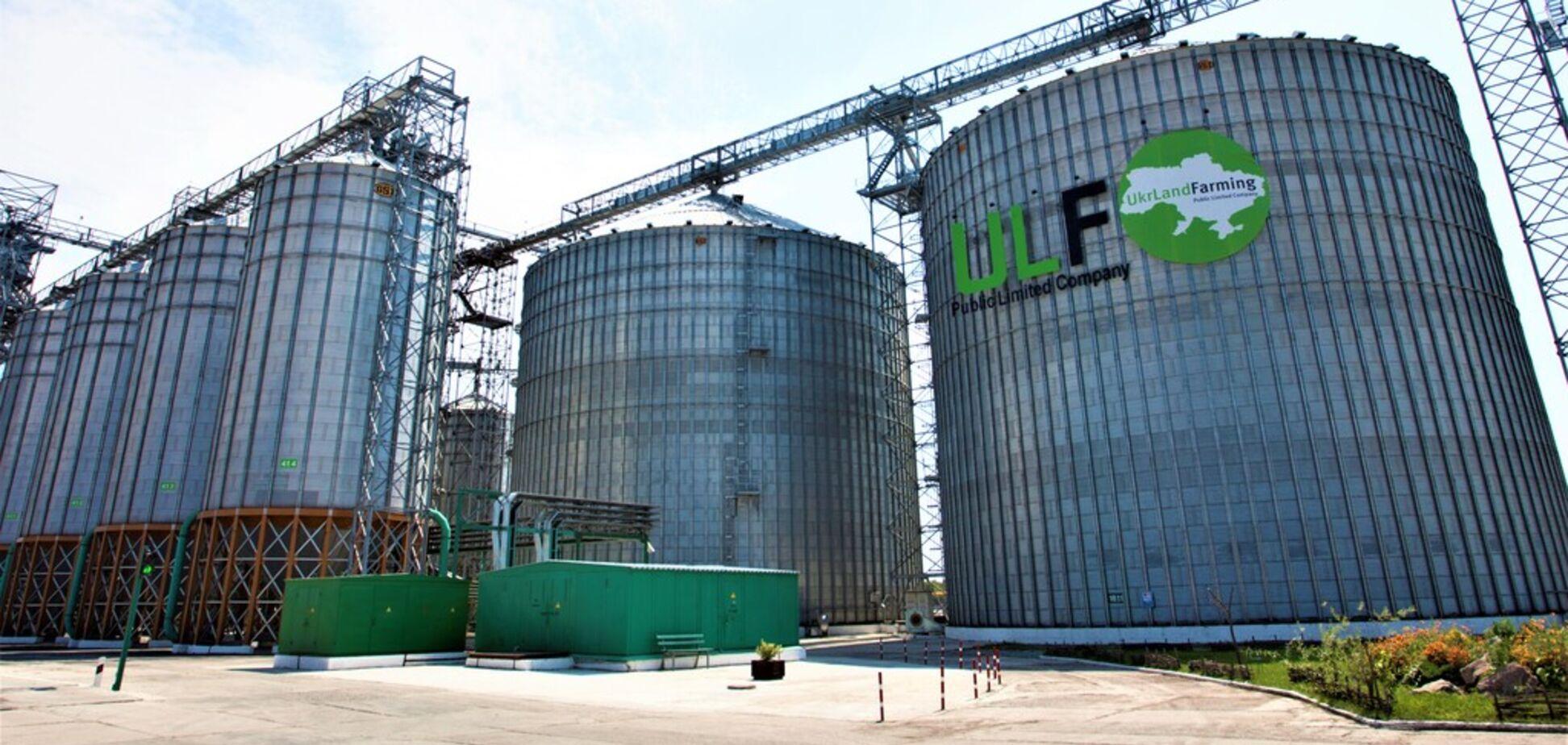 'Укрлендфармінг' Бахматюка завантажив на власні елеватори понад 1,2 млн тонн зернових нового врожаю