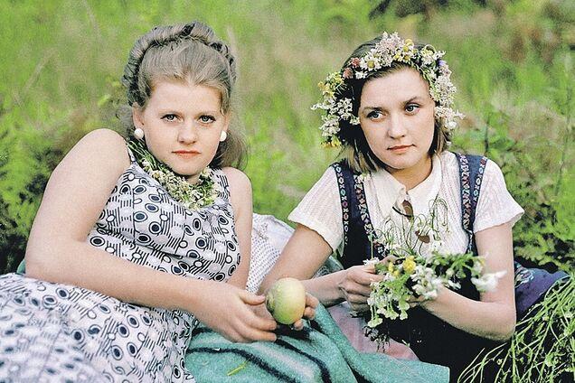 Ирина Муравьева и Вера Алентова