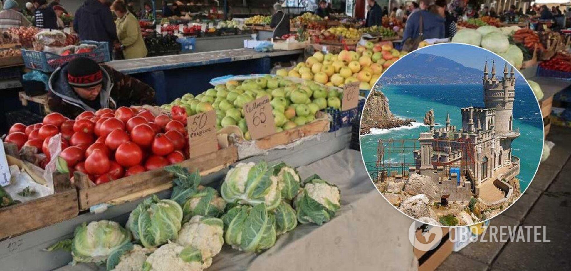 'Подорожчало на 189%': кримчан шокувало зростання цін на продукти