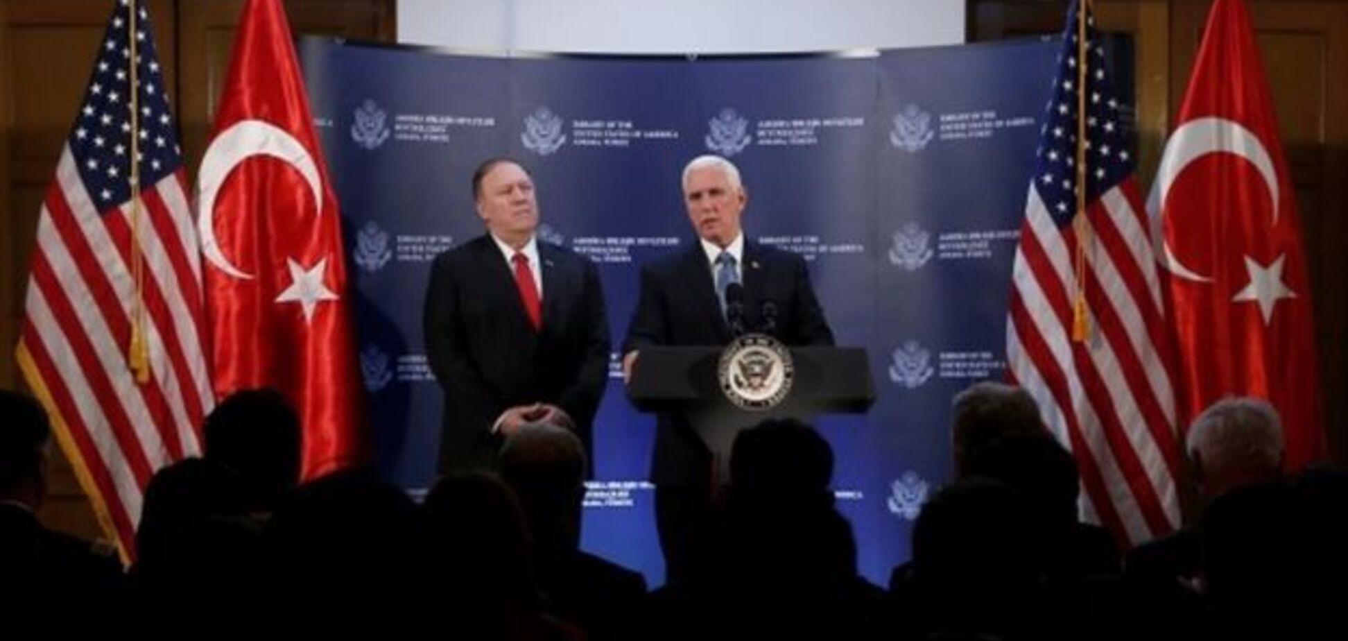 США і Туреччина домовилися про припинення війни в Сирії