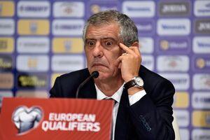 Тренер сборной Португалии нашел нелепую отмазку после поражения от Украины