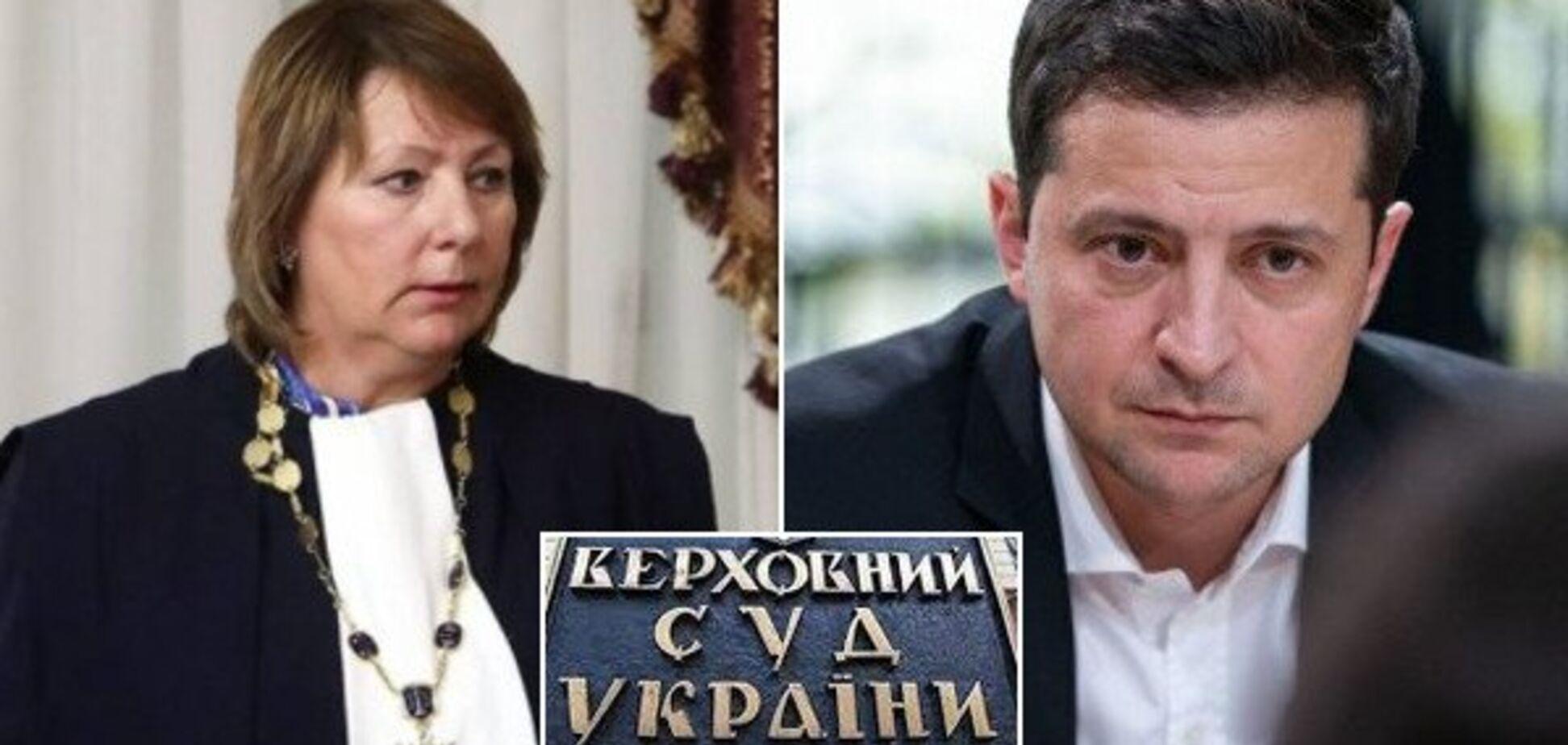'Шалений тиск і залякування!' Глава ВС розгромила судову реформу Зеленського
