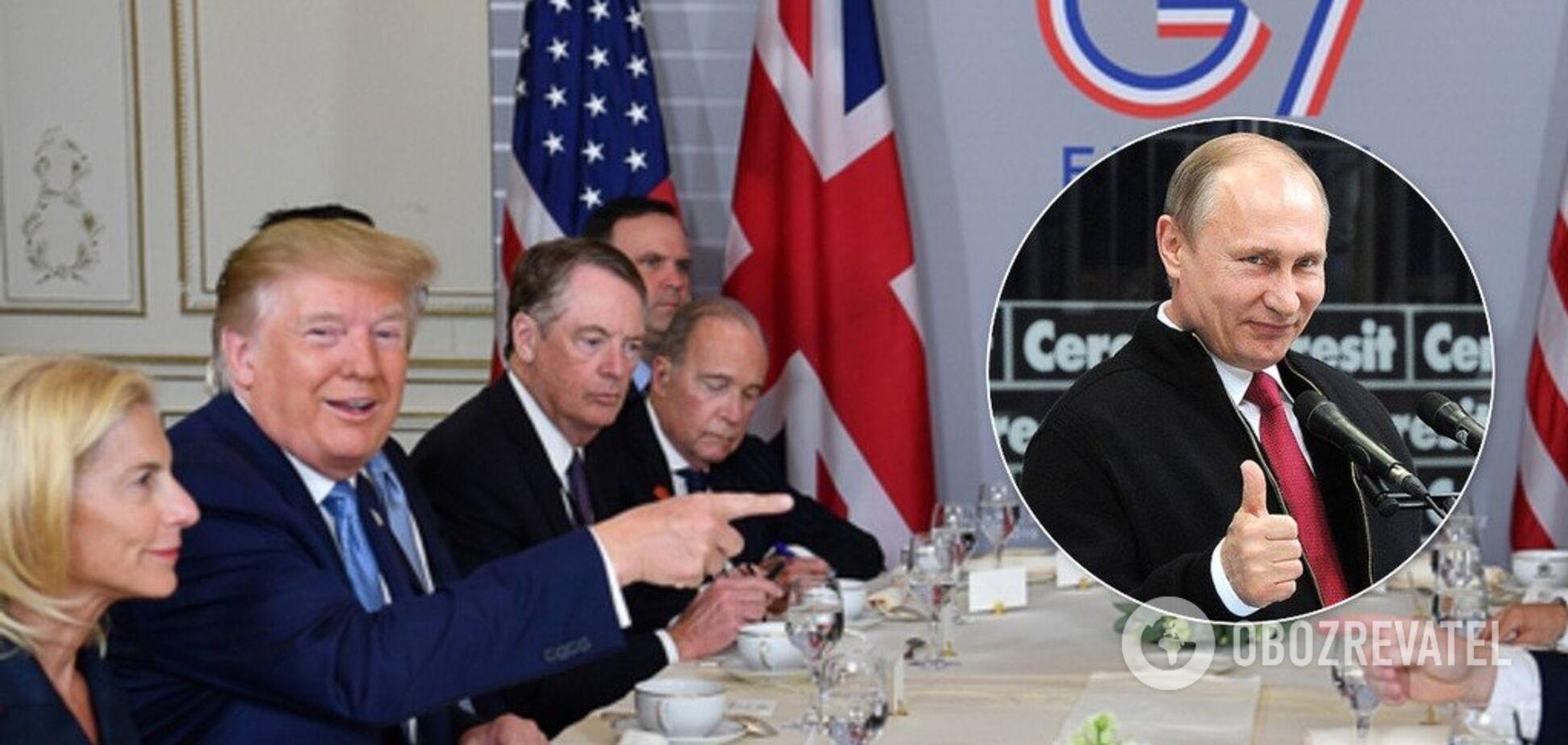 В США заговорили о возвращении России в G8