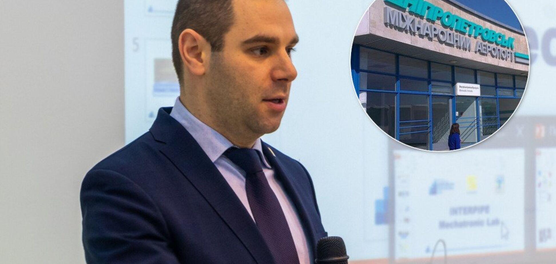 'Это только начало!' Кисилевский рассказал о реконструкции аэропорта в Днепре