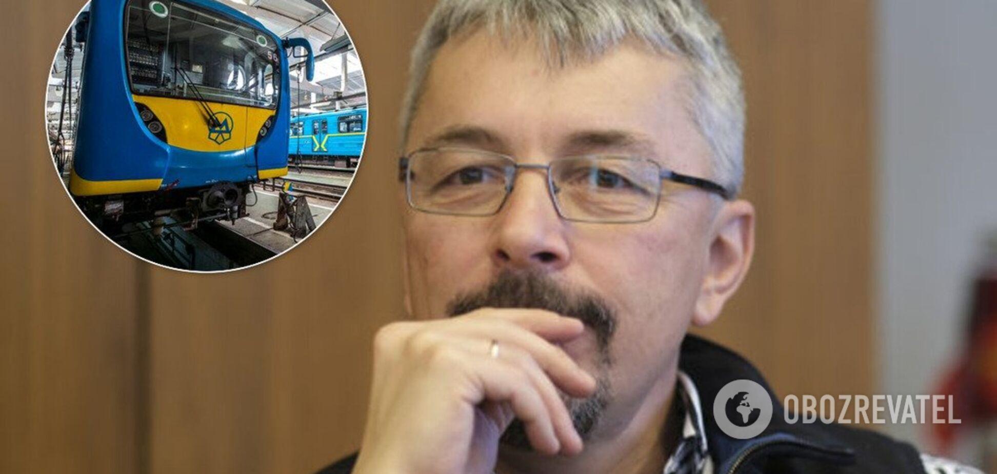 'Реально запустити до 2020 року!' Ткаченко представив проєкт наземного метро на Троєщину