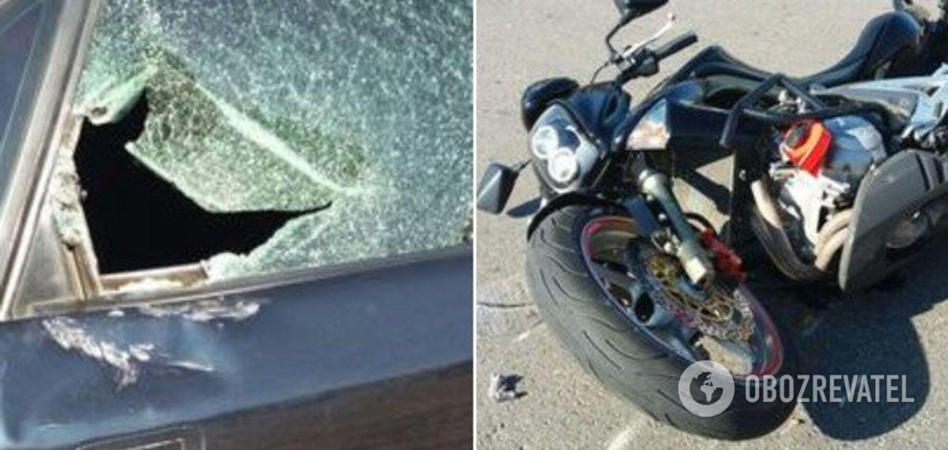 Пробил окно головой: в Кривом Роге произошло жуткое ДТП с пострадавшими