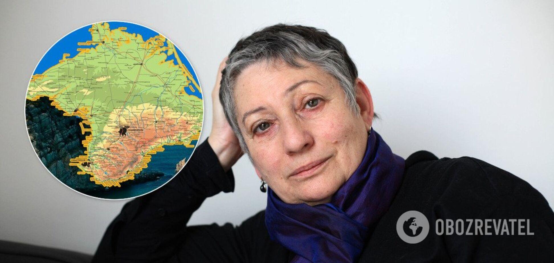 Крым – несчастное место. За него еще долго будет вестись борьба – Людмила Улицкая