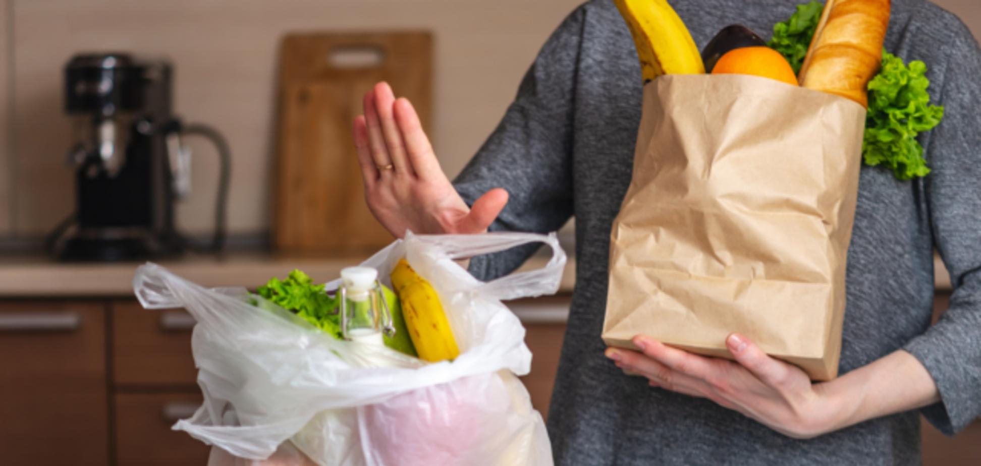 Кабмін підтримав заборону на пакети із пластику