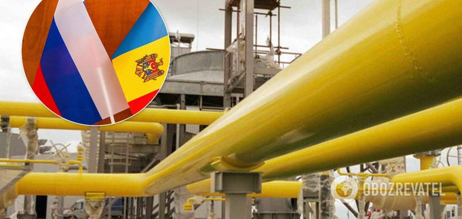 Транзит газа: Молдова неожиданно поставила подножку Украине
