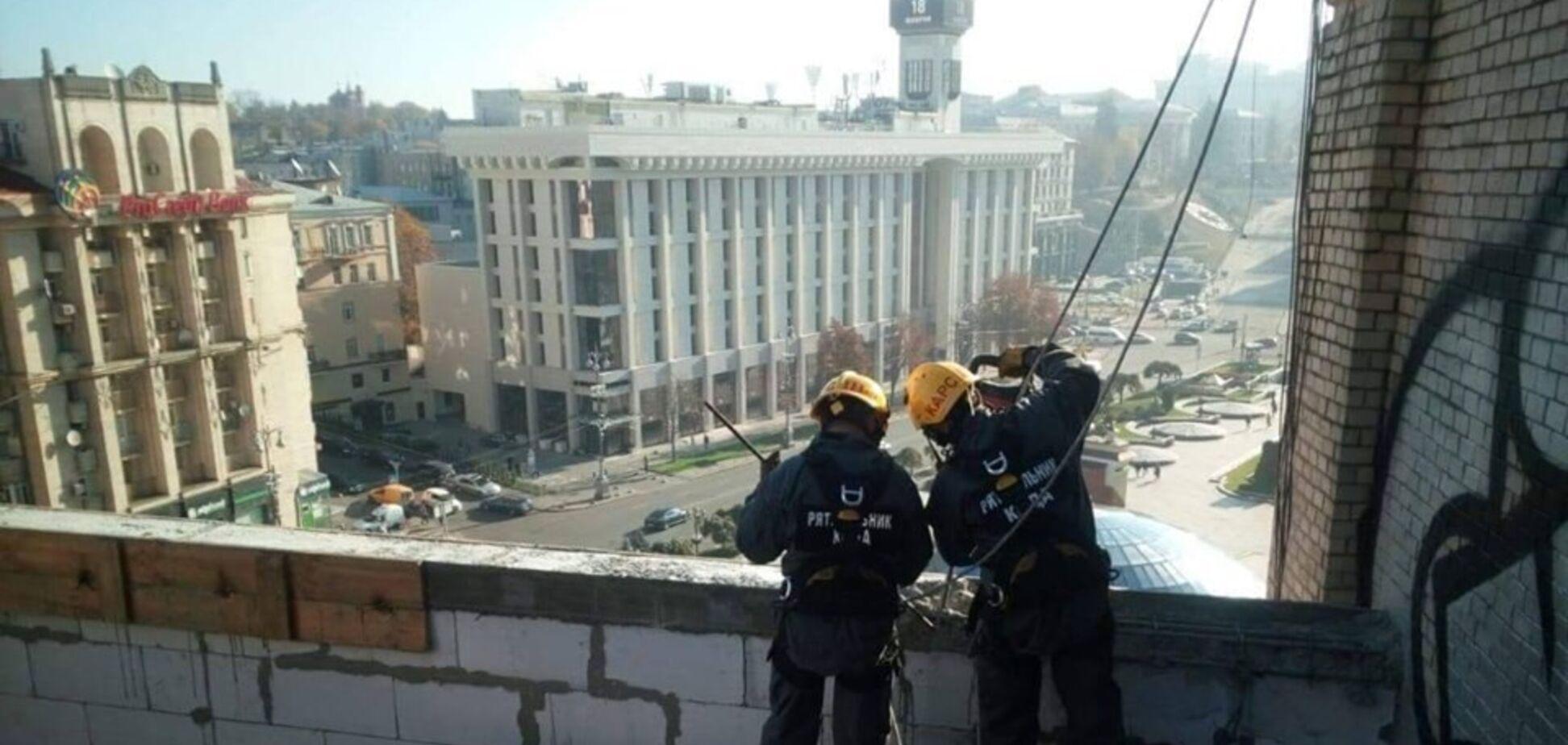 Скандал с пристройкой в центре Киева получил продолжение. Источник: Facebook Максима Бахматова