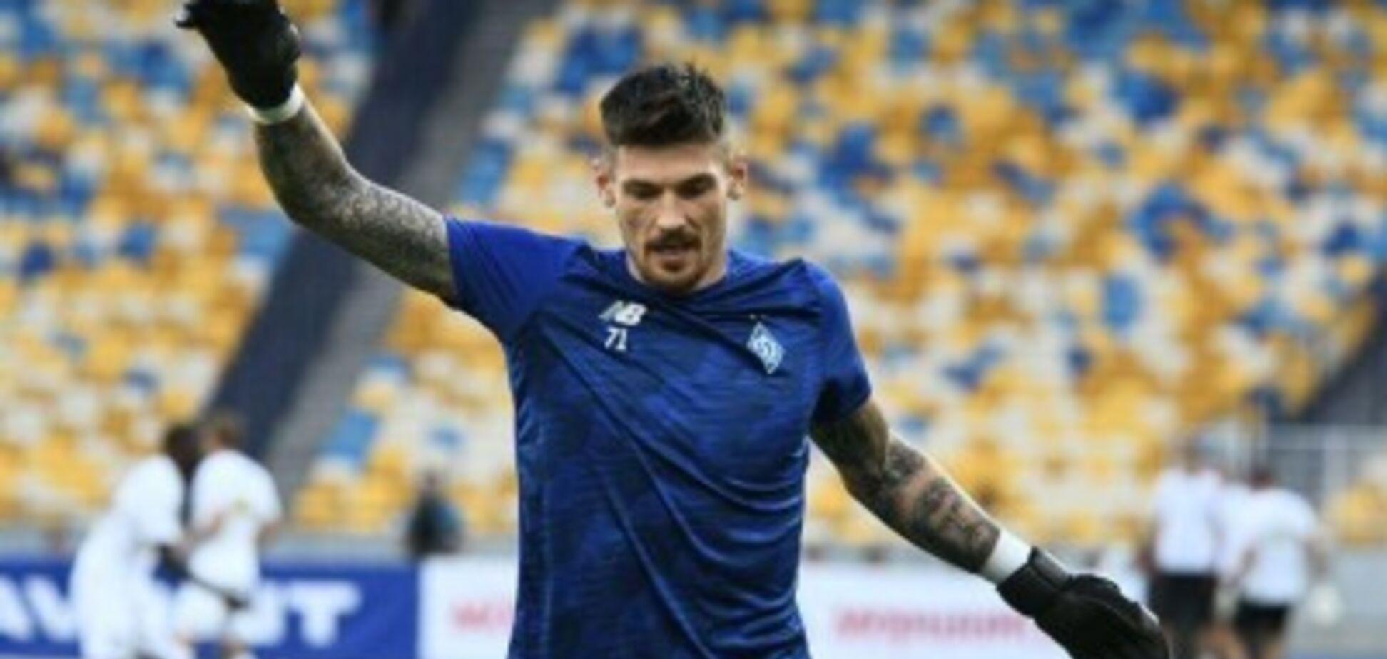 'Развивается десятилетиями': в 'Динамо' рассказали о травме основного вратаря