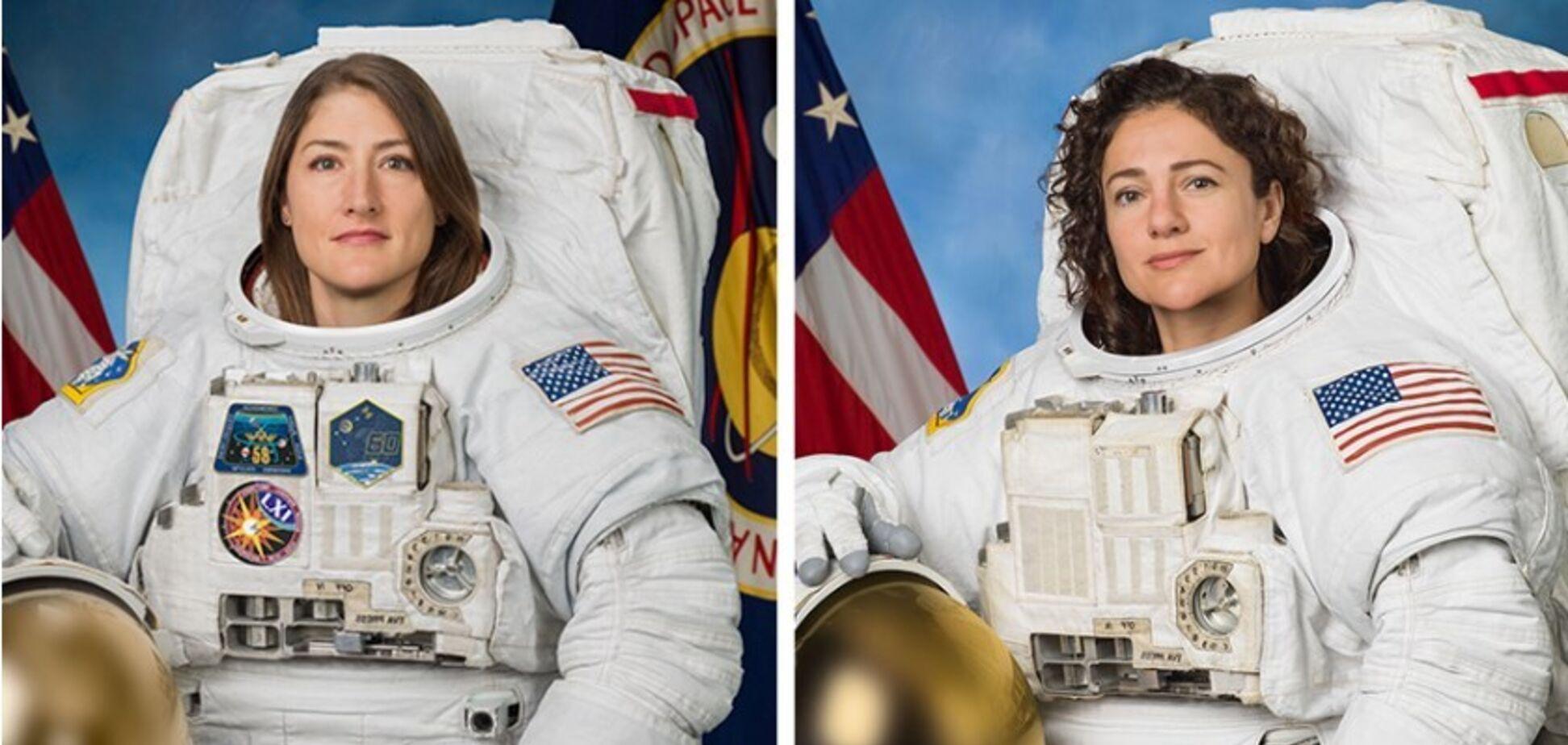 Впервые в истории: две астронавтки отправились в открытый космос с МКС