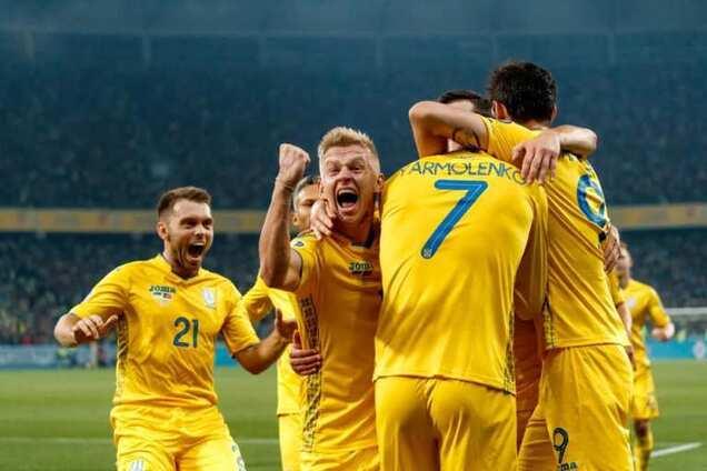 Сборная Украины установила супердостижение