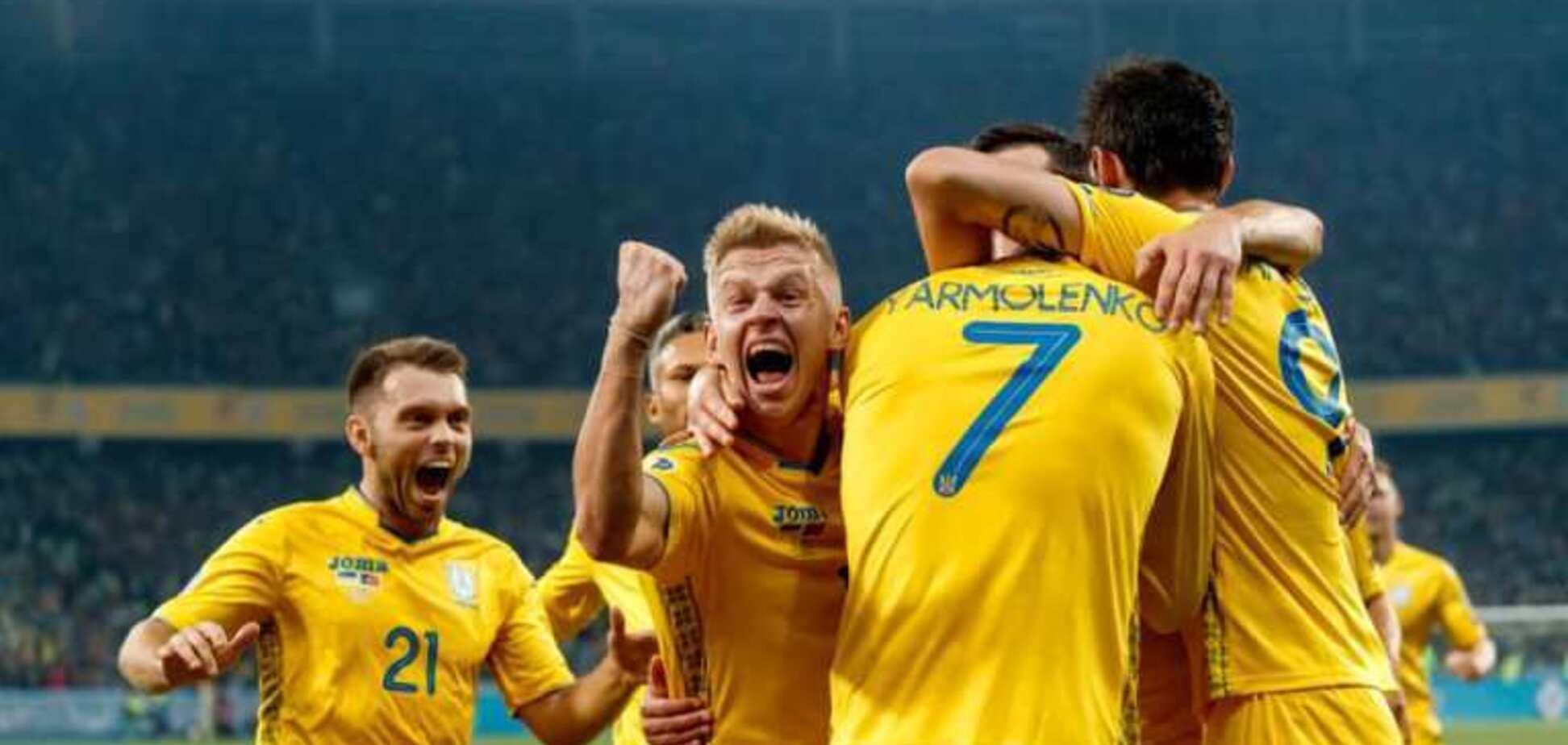 Сборная Украины установила исторический рекорд в отборе Евро-2020