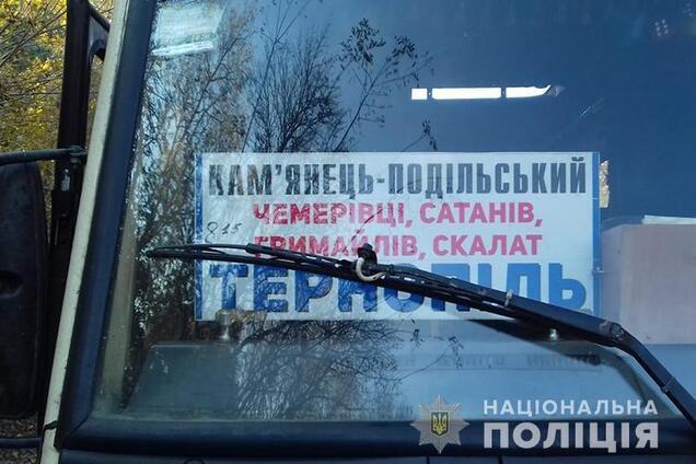 Під Тернополем дівчинка загинула, випавши з автобуса