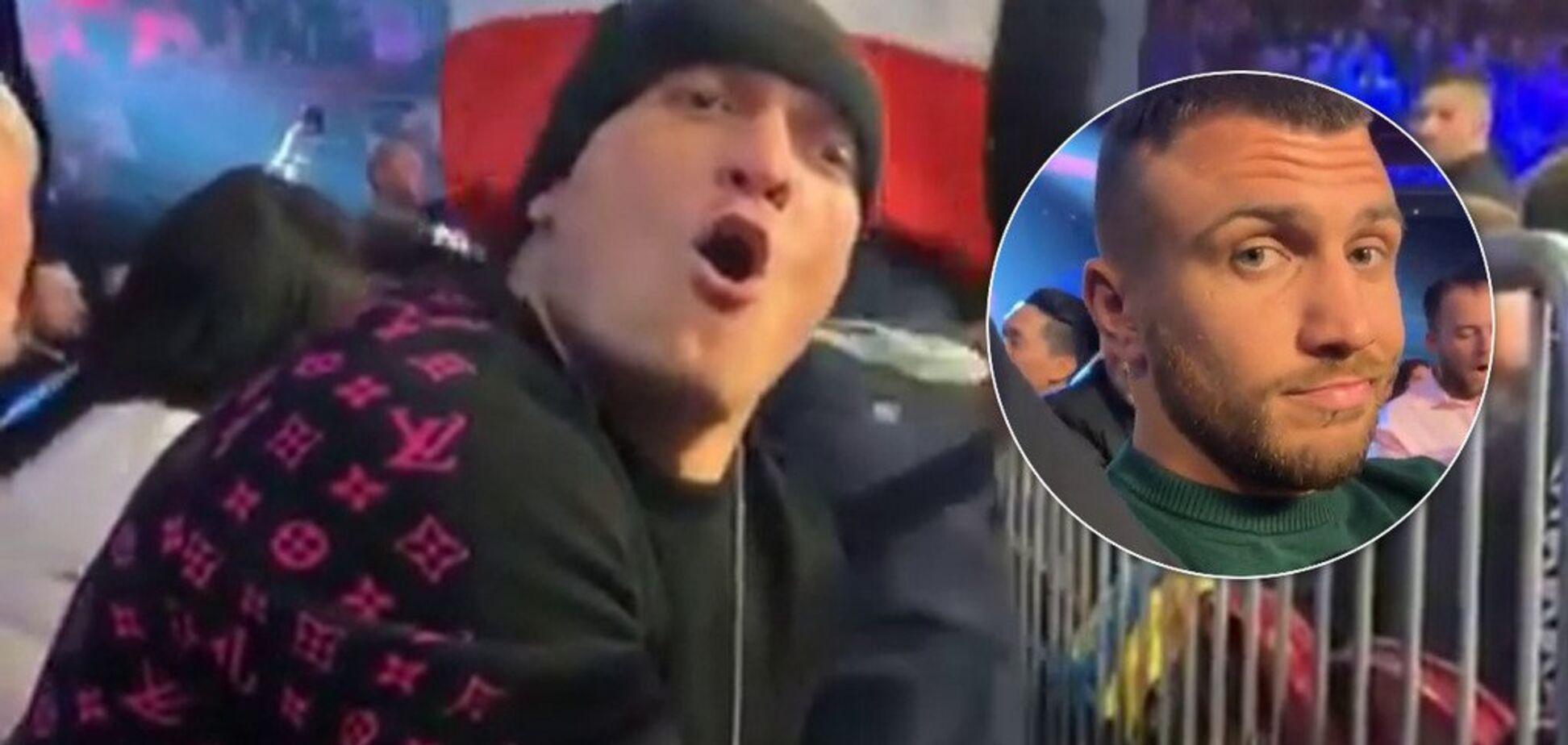 'Пьяный' Усик достал Ломаченко перед боем Гвоздика - опубликовано видео