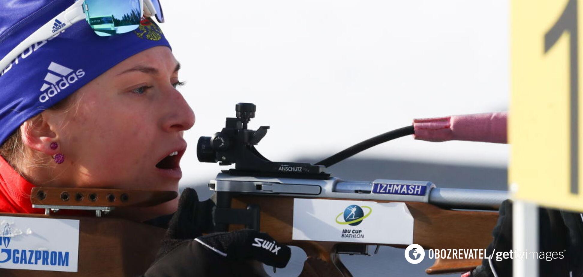 Россию лишили квоты на Кубок мира по биатлону