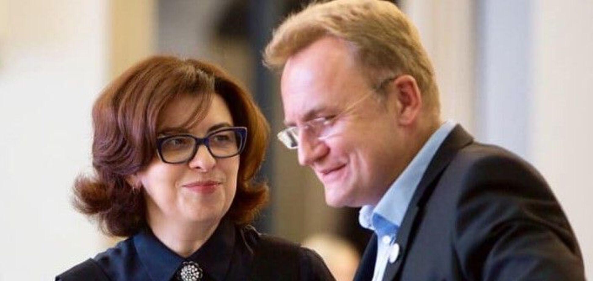 Оксана Сыроид и Андрей Садовый