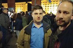 'Раскаиваюсь!' На Майдане поймали оскорбившего Гандзюк блогера. Видео извинений