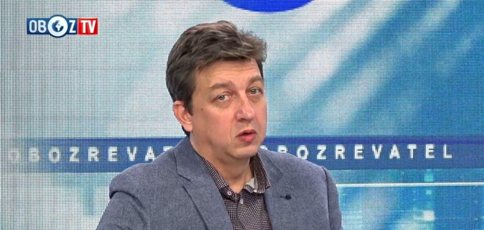 Протесты не будут иметь силы из-за раскола украинского общества: Александр Доний
