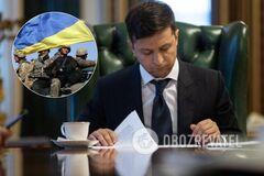 Статус УБД для добровольців: Зеленський підписав остаточний закон