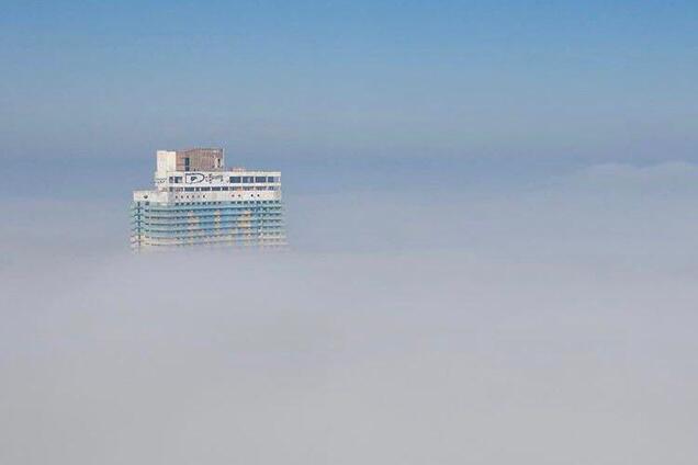 Туманный Днепр