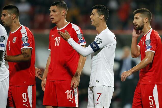 Сербия и Португалия поборются за второе место в группе В