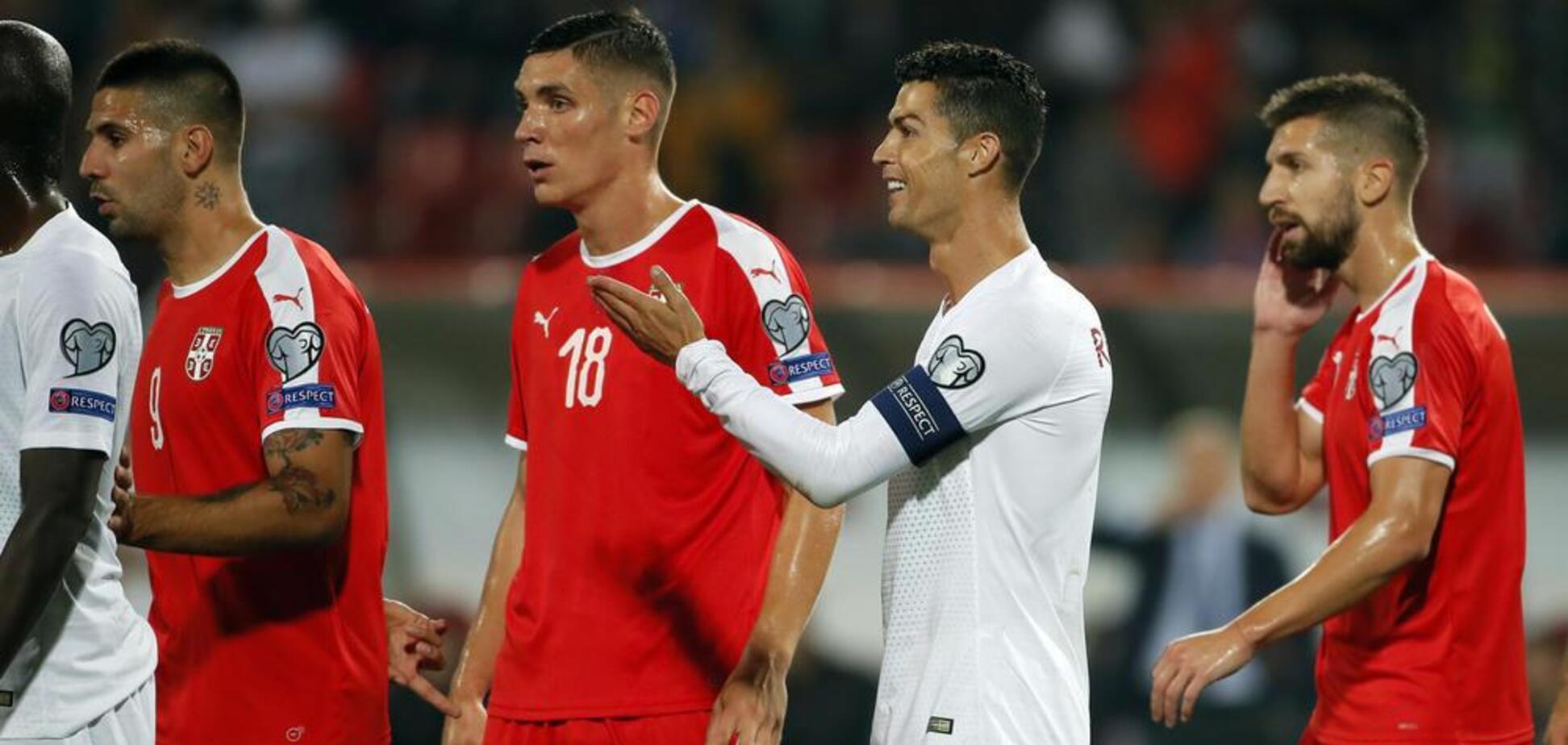 В Сербии готовят подставу для Роналду в отборе Евро-2020