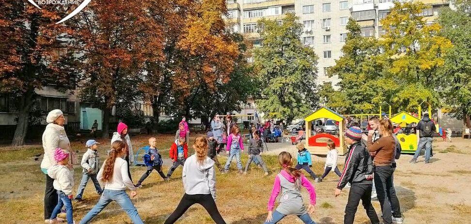 Фонд Мунтяна устроил праздник детям в Киеве