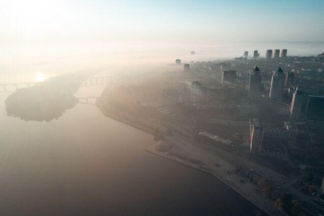 В Днепре прогнозируют туман