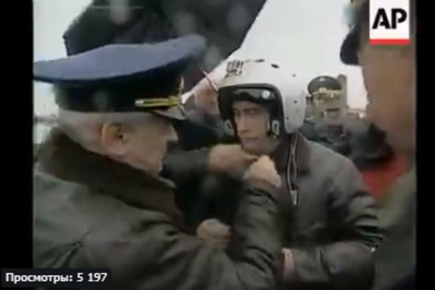 В сети разгромили архивное видео с Путиным