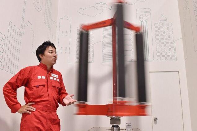Прототип тайфунного генератора