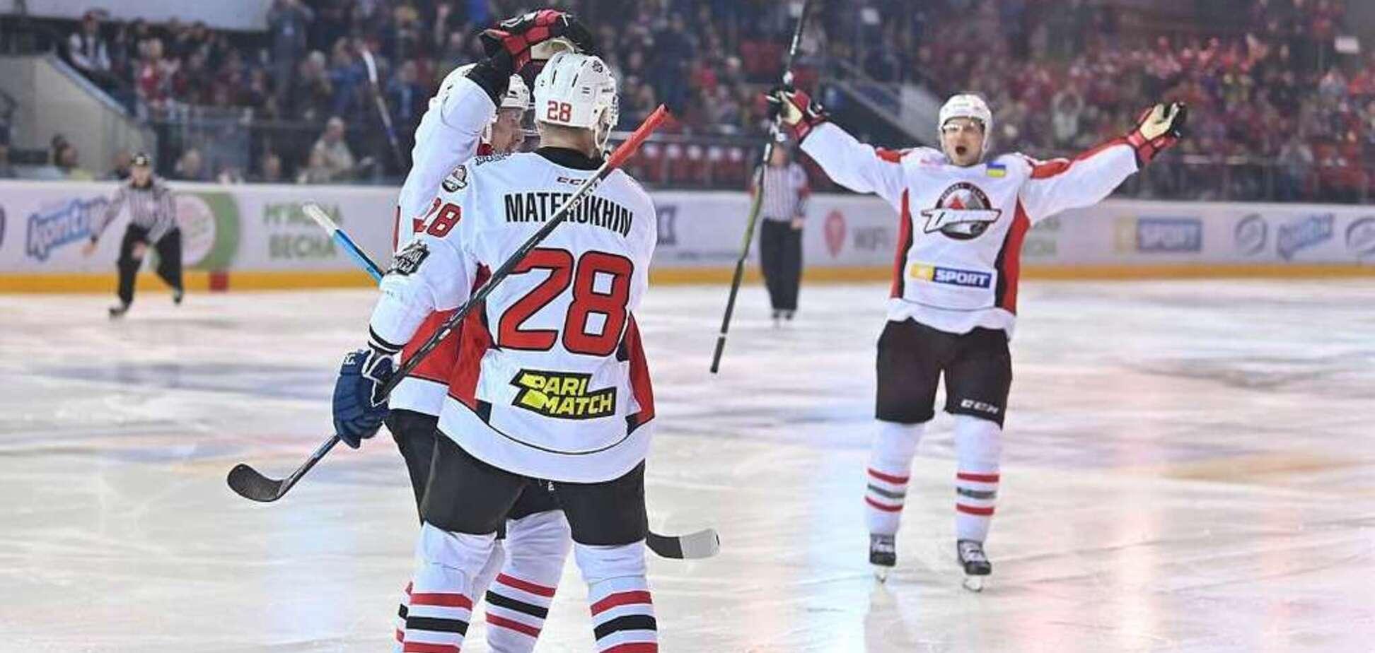 ХК 'Донбасс' вышел в полуфинал Континентального кубка