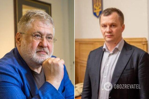 Коломойський і Милованов