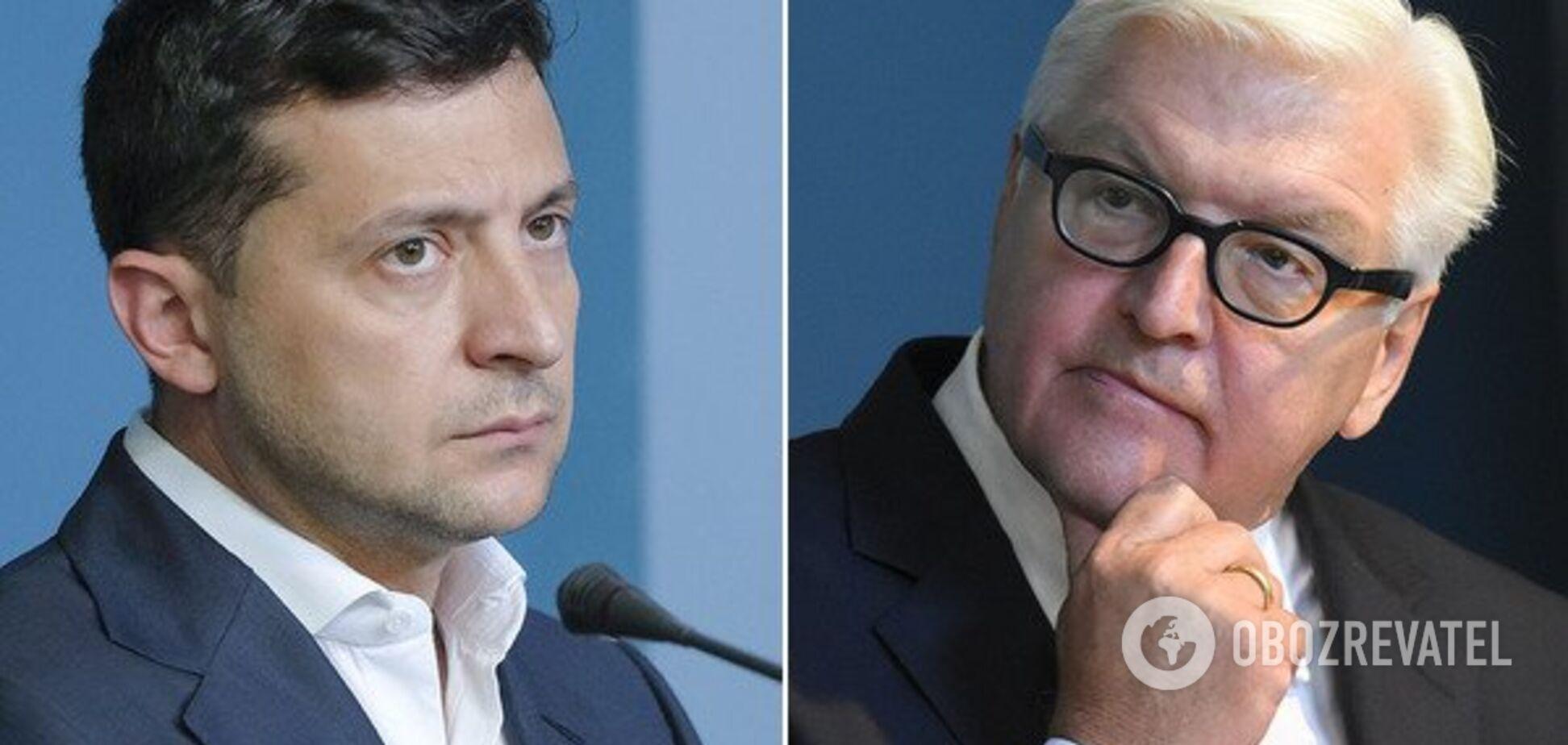 Зеленський зустрінеться зі Штайнмаєром – автором скандальної формули стосовно Донбасу