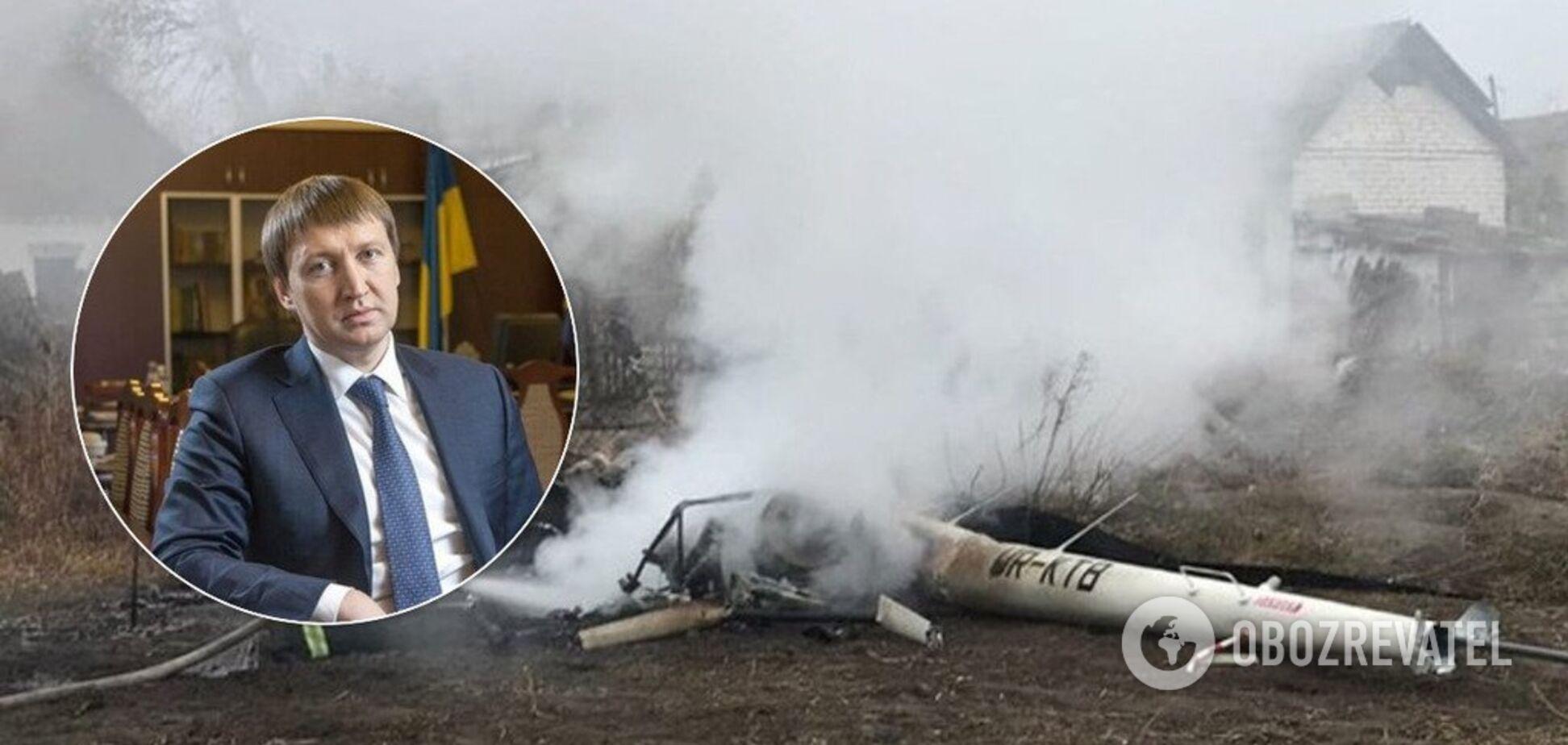 Загибель ексміністра під Полтавою: з'явилися нові подробиці і фото