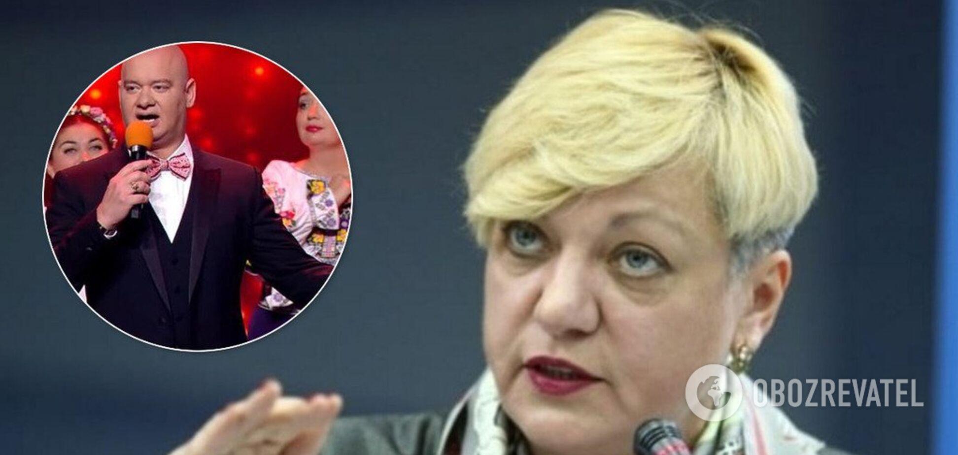 Гонтарева звинуватила 'Квартал' у підриві економіки України