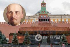 'Вынесите это у*бище из Мавзолея!' В России разгорелся скандал из-за 'германского шпиона' Ленина