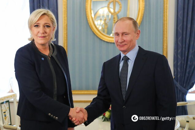 Марін Ле Пен і Путін
