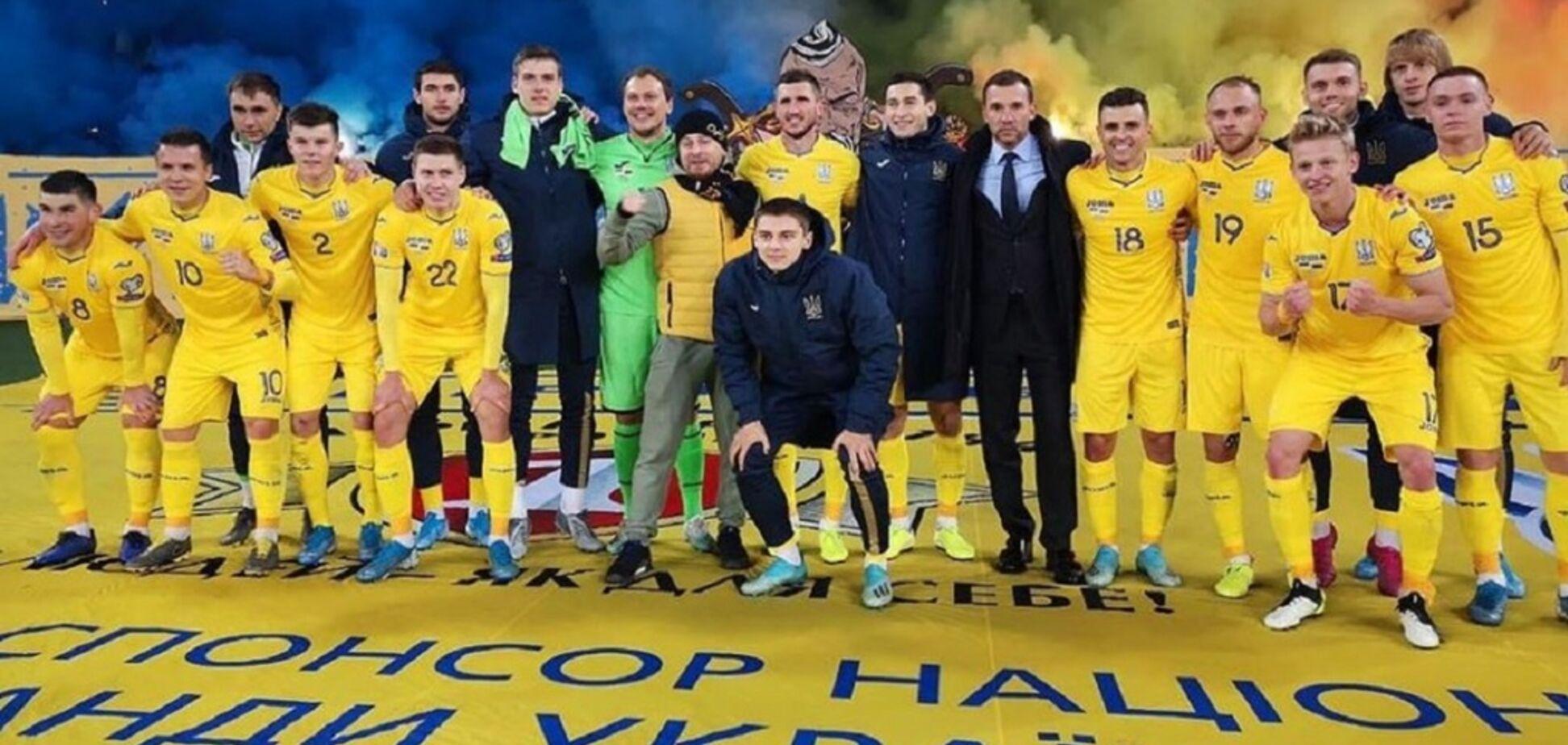 'Пиво, вино': стало известно, как сборная Украины отмечала выход на Евро-2020