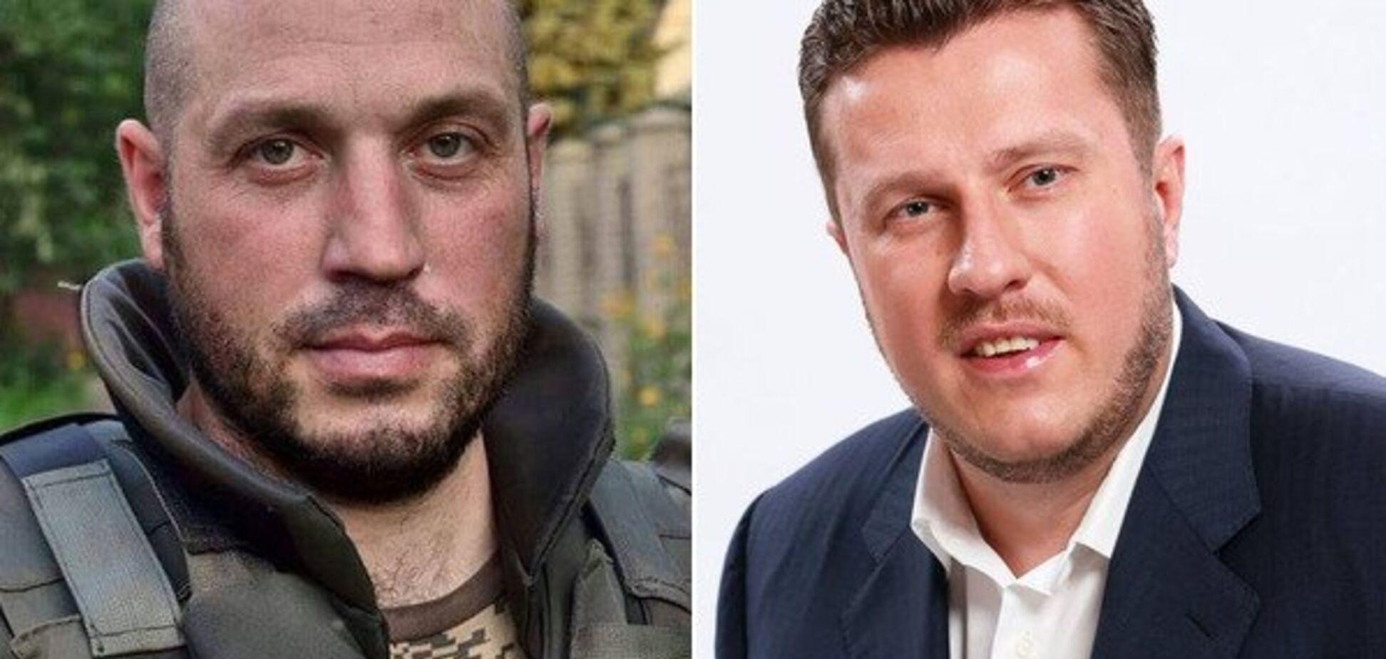 Кіборг Олег Гервас – депутат Антон Яценко