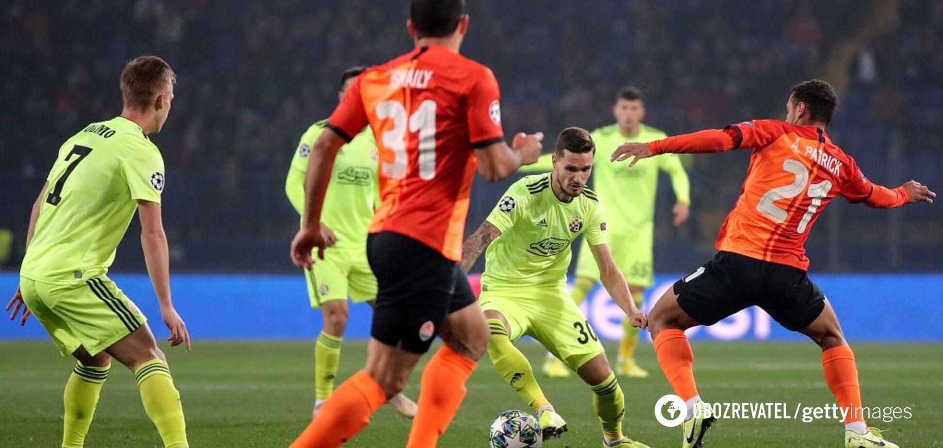 'Шахтер' - 'Динамо' Загреб: видеообзор матча Лиги чемпионов